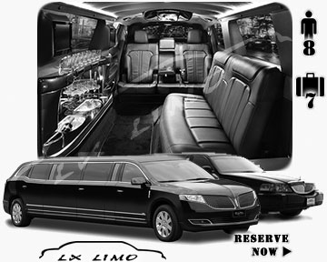 Stretch TownCar Limo for hire in Winnipeg, MB