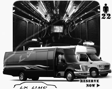 Party Limo Bus rental in Winnipeg | Winnipeg LIMOBUS 22 passengers