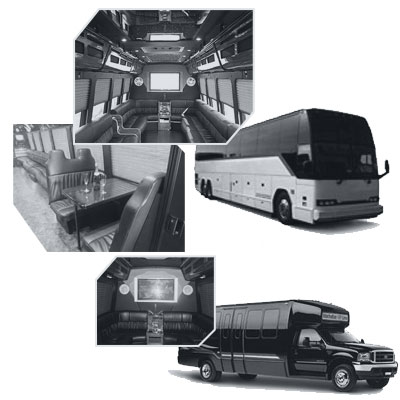 Party Bus rental and Limobus rental in Winnipeg, MB